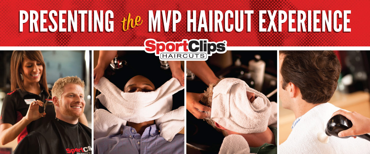 The Sport Clips Haircuts of West Caldwell MVP Haircut Experience